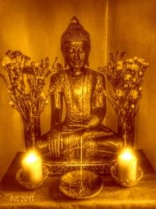 Buddha (PJL 2013) B&W