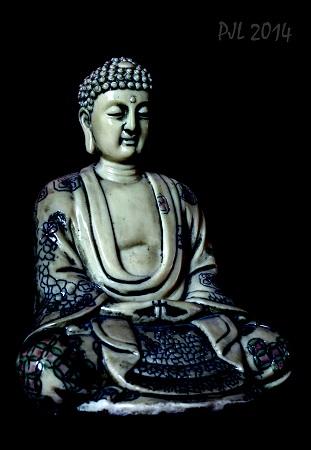 Resin Buddha III