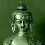 Bronze Buddha Portrait