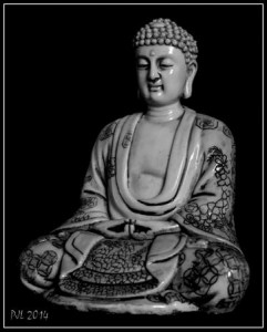 Resin Buddha III (PJL 10-2014) [SAM_8860_1_2_fused] BW 450