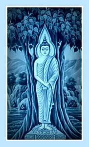 Standing Buddha - www.asienreisender.de